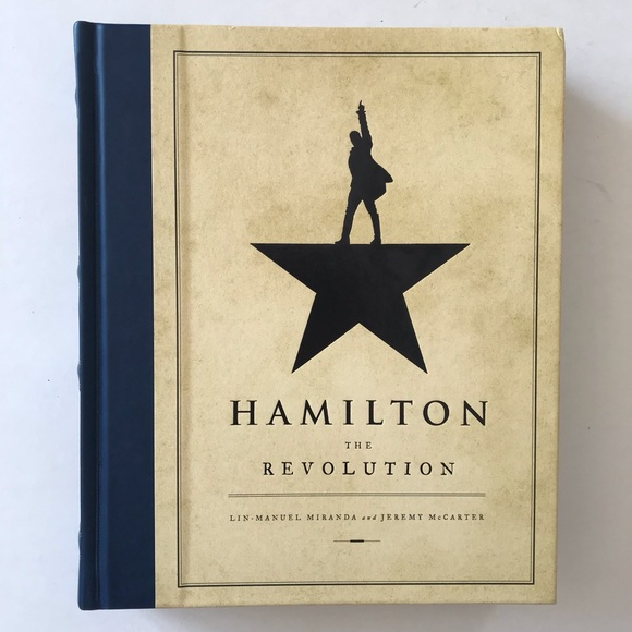 Hamilton: The Revolution Large Hard Cover Book